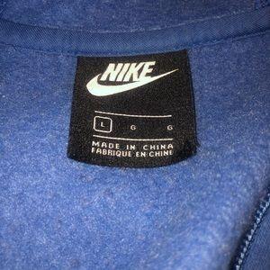 light blue nike jacket